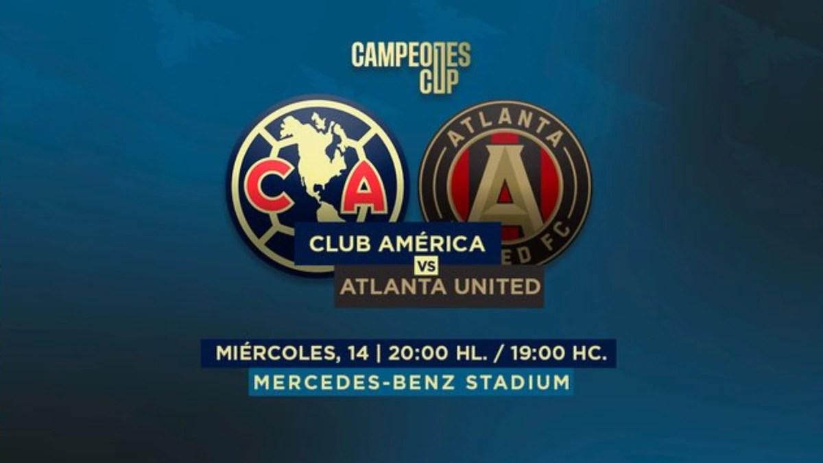 América vs Atlanta United: dónde y cómo ver en vivo la final de la Campeones CUP