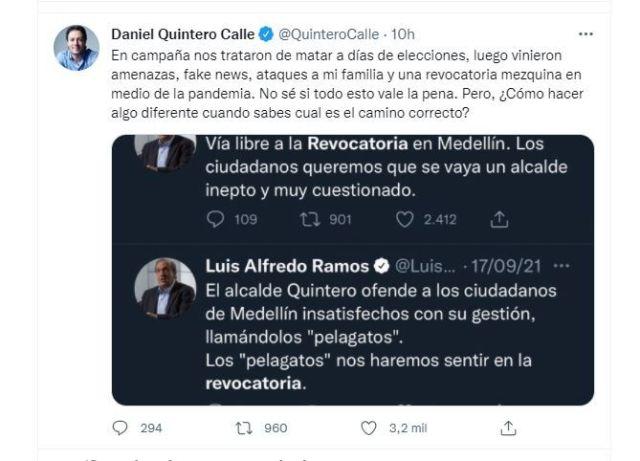 Quintero / Twitter