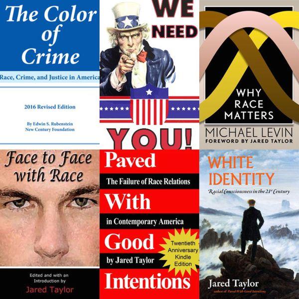 Portadas de la publicación a cargo de Jared Taylor, uno de los hombres más respetados dentro del círculo de la derecha alternativa. Su revista mensual online, destaca las prioridades a ser consideradas por los supremacistas blancos