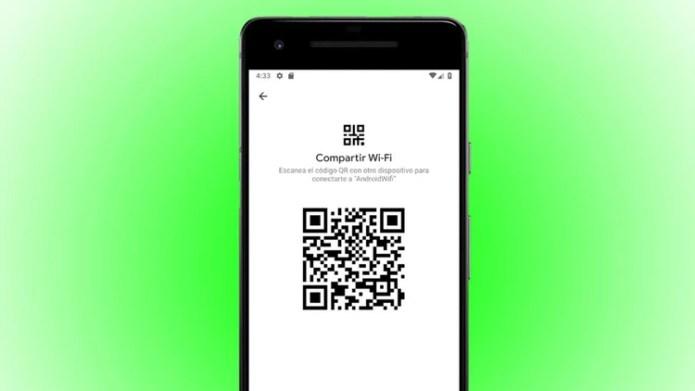 Se podrá compartir la contraseña de wifi a través de código QR.
