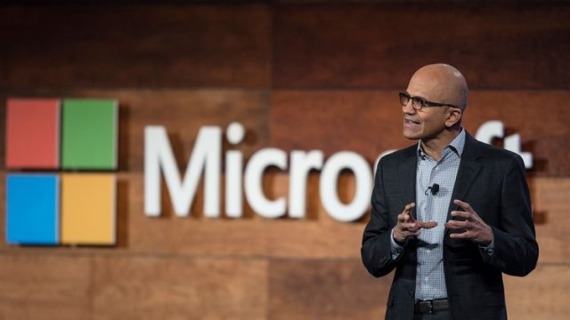 El CEO de Microsoft, Satya Nadella, ha obtenido grandes resultados. (Getty Images)