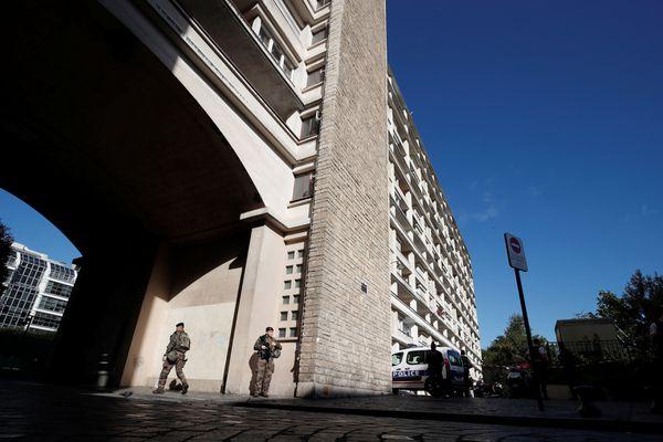El área donde ocurrió el ataque (Reuters)