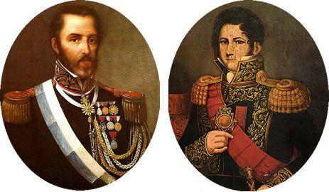 Juan Lavalle y Juan Manuel de Rosas