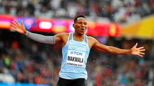 Isaac Makwala logró correr los 200 metros en 20.20 segundos (Reuters)