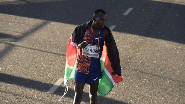Unos cuatro corredores lograron finalizar la media maratón en menos de una hora
