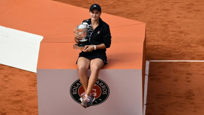 Barty será número 2 del mundo (Photo by Philippe LOPEZ / AFP)