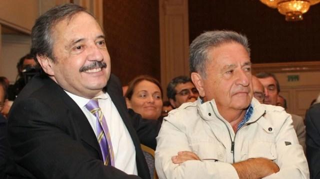 Eduardo Duhalde mantiene un contacto fluido con el dirigente radical Ricardo Alfonsín (NA)