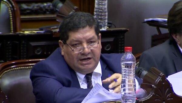 El diputado José Orellana, acusado de abuso sexual.