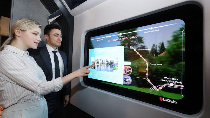 TV Transparente CES 2021