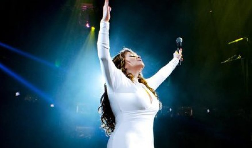 Those present at her last show assure that that night the singer looked especially moved and grateful (Photo: Instagram @jennirivera)