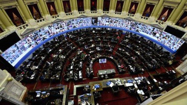 La sesión en la Cámara de Diputados (NA)