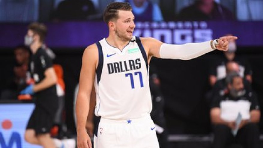 Luka Doncic, the Slovenian who played for Real Madrid and left his place to Campazzo when he went to the NBA.  Will they meet again in Dallas?  (Garrett Ellwood / NBAE)