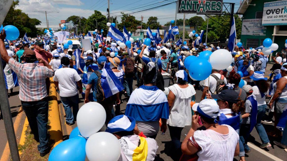 El régimen de Daniel Ortega ha creado una lista negra de ciudadanos que participan en protestas y, principalmente, ex reos políticos. (Cortesía La Prensa)