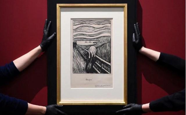 """""""El Grito"""" en el Britich Museum"""