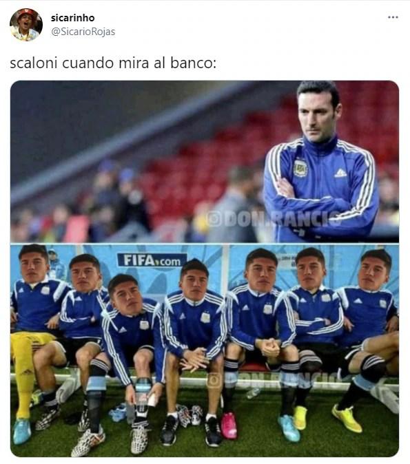 Los mejores memes del triunfo de la selección argentina contra Paraguay:  Scaloni, Correa y el Kun Agüero, en el centro de las bromas | El Portal de  Salta