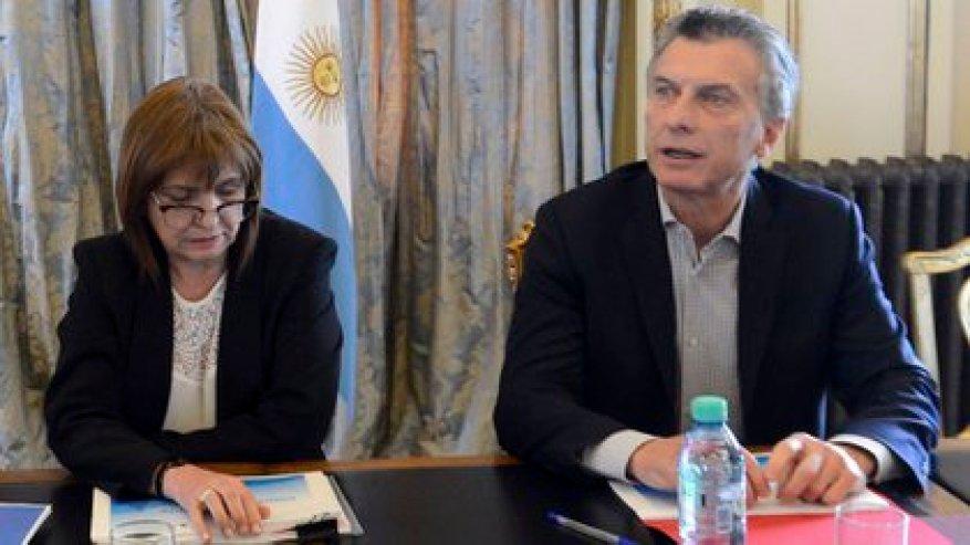 Patricia Bullrich and Mauricio Macri