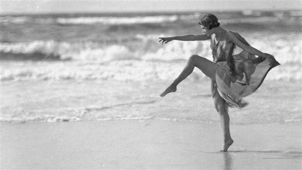 Isadora nació en San Francisco y el mar siempre fue una de sus pasiones.