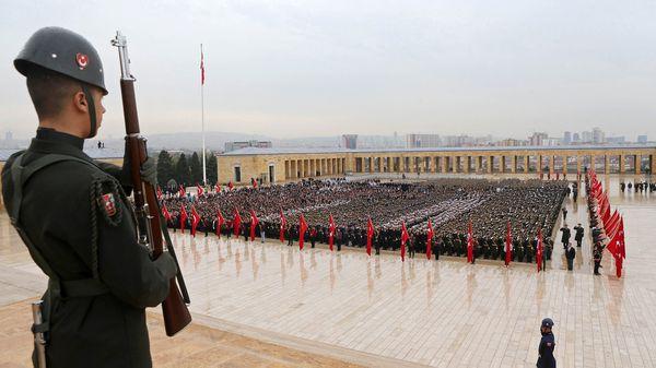 Desfile militar turco (AFP)