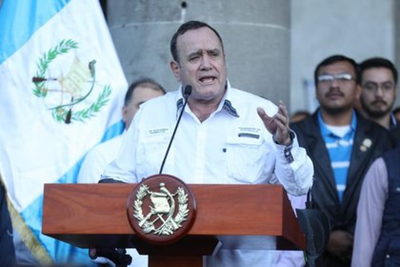 Alejandro Giammattei, presidente de Guatemala POLITICA CENTROAMÉRICA GUATEMALA INTERNACIONAL GOBIERNO DE GUATEMALA