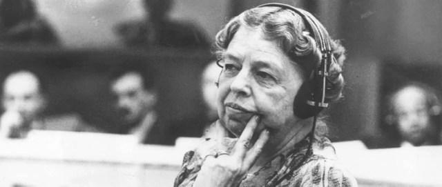 Eleanor Roosevelt en la ONU