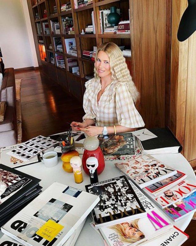 Una de las fotos de Claudia Schiffer en Instagram