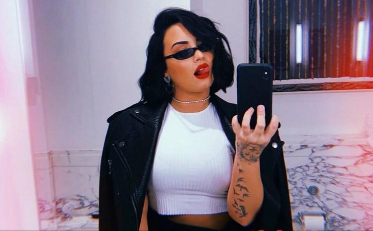 Demi Lovato sobrevivió a una sobredosis (IG: ddlovato)