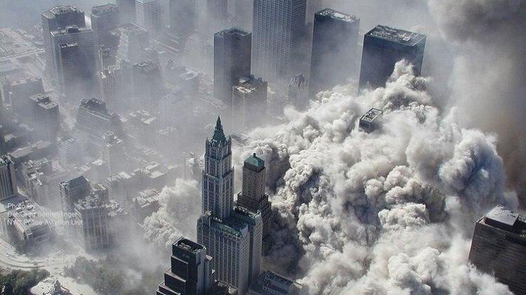 Durante el atentado se liberaron en el aire miles de sustancias cancerígenas (Foto: AFP)