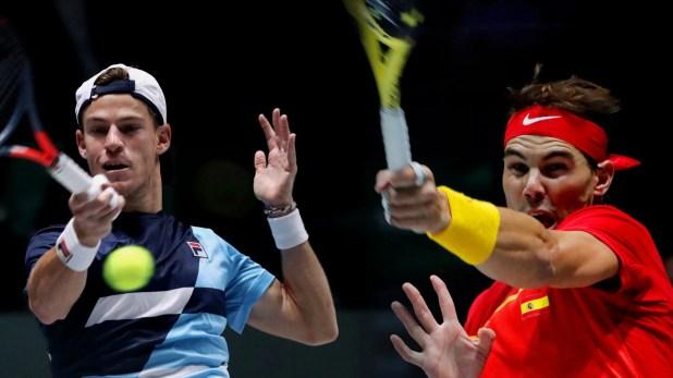 Argentina y España por un lugar en las semifinales de la Copa Davis (Reuters)