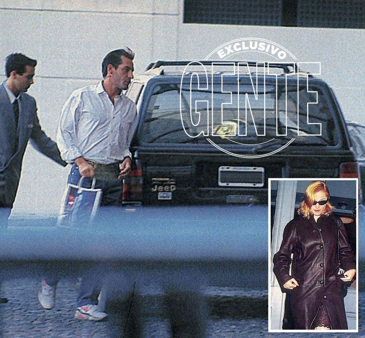 Hace veintitrés años, con ambos de treinta y pico, el flechazo surgió no bien Madonna Louise Veronica Ciccone pisó Buenos Aires el 20 de enero del '96 y se alojó en la Mansión del Hyatt, desde donde Bossi la sacaba escondida en su camioneta.