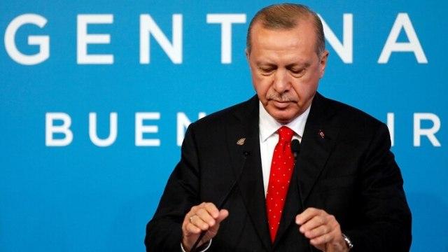 Recep Erdogan, presidente de Turquía (Reuters)