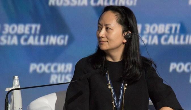 Meng Wanzhou, jefa financiera de la empresa (REUTERS/Alexander Bibik)