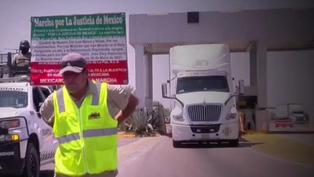 Jose Eloy Espinoza Gonzalez camina todo mexico busca hijo desaparecido
