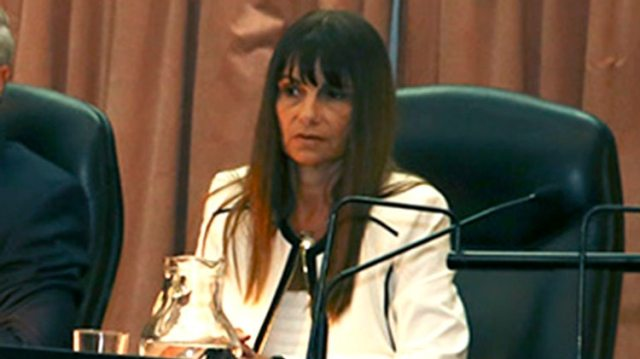 La jueza Adriana Palliotti