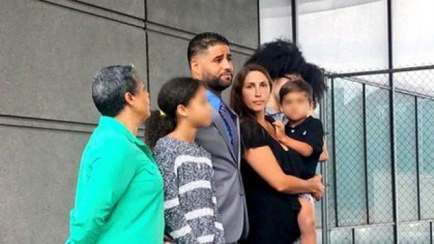 Juan y Marissa Rodriguez tienen tres hijos (Foto: Twitter@JGordonTV)
