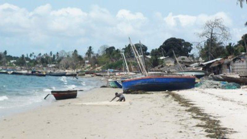 Mocimboa da Praia, al norte de Mozambique