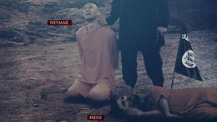 Neymar y Messi son las víctimas en la nueva amenaza de ISIS al Mundial de Rusia 2018