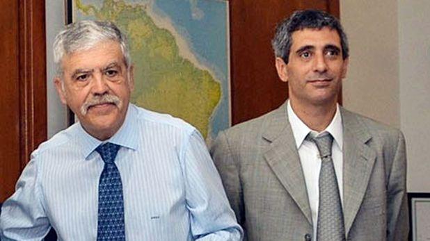 Julio De Vido junto a Roberto Baratta, su ex mano derecha