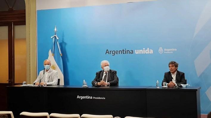 Conferencia de prensa Gines GONZALEZ Garcia - Fernan Quirós - Daniel Gollan