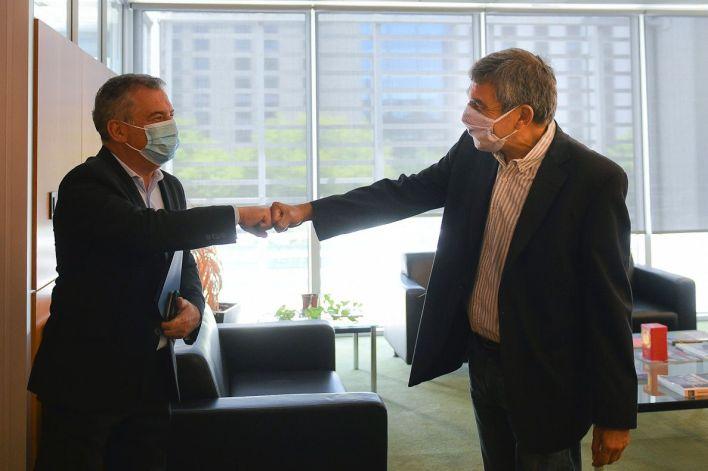 Sergio Uribarri con ministros