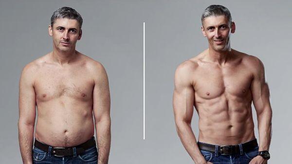 Jackson transformó su cuerpo en tan sólo 12 semanas (MyProtein)