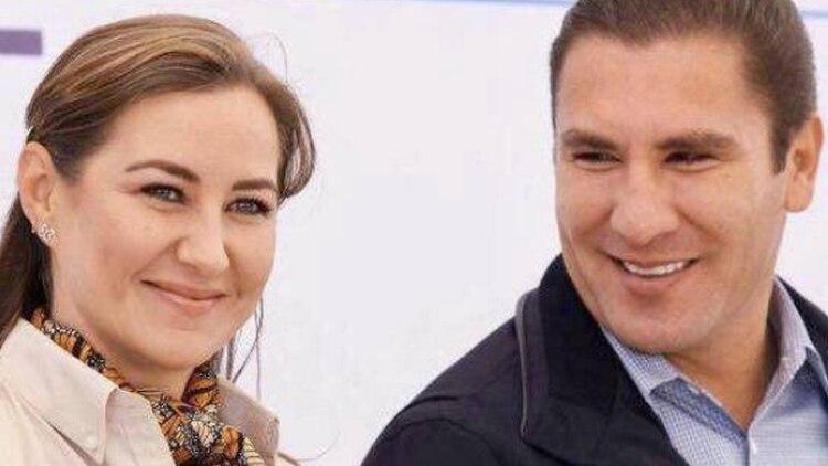 La gobernadora de Puebla, Martha Erika Alonso falleció junto a su esposo Rafael Moreno Valle (Foto: Facebook Rafael Moreno Valle)