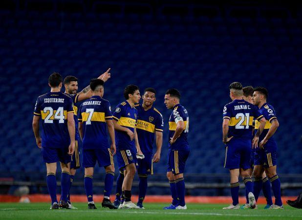 Esta noche en la Bombonera Boca disputará su último partido por la fase de grupos de la Libertadores (EFE/Juan Mabromata)