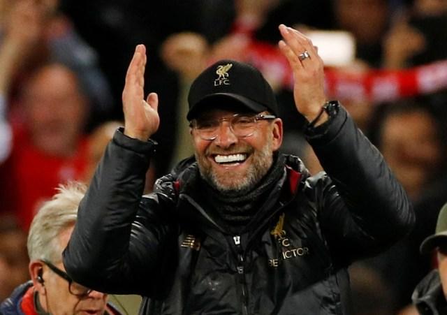 La temporada pasada, el Liverpool de Klopp sucumbió en la final de la Liga de Campeones, pero este año se ganó un viaje de regreso tras derrotar al Barcelona el 7 de mayo. (REUTERS/Phil Noble)