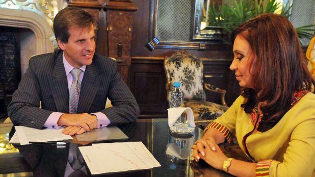 Altri tempi. Redrado, cuando era presidente del BCRA en la primera gestión de Cristina Kirchner. En 2010 fue eyectado por resistirse a un decreto presidencial que disponía de las reservas de la entidad