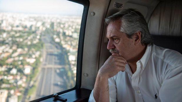 Durante el fin de semana el Presidente monitoreó el movimiento de la gente en el Gran Buenos Aires