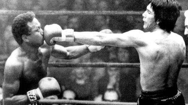 Cuando Monzón conoció a la enigmática modelo estaba preparando lo que sería su última pelea por el título del mundo.