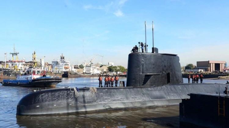 El submarino ARA San Juan desapareció en noviembre de 2017 (Reuters)