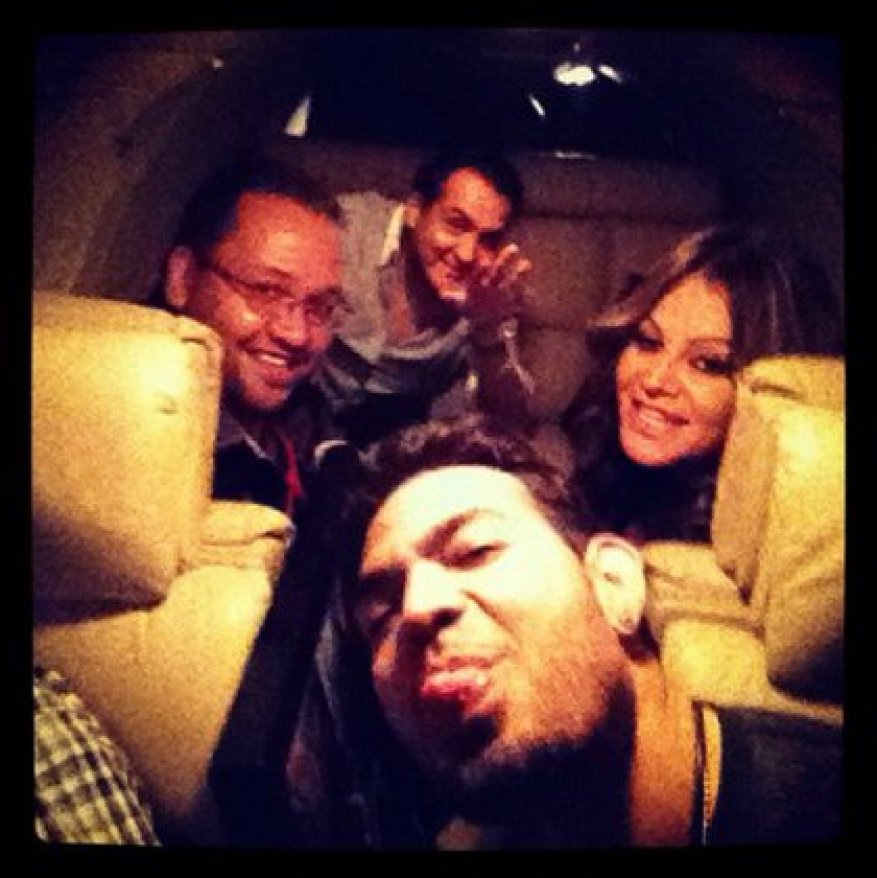 The work team that accompanied Jenni Rivera on that fateful flight (Photo: Jenni Rivera social networks)