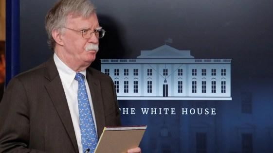 John Bolton, asesor de seguridad de EEUU (Reuters)