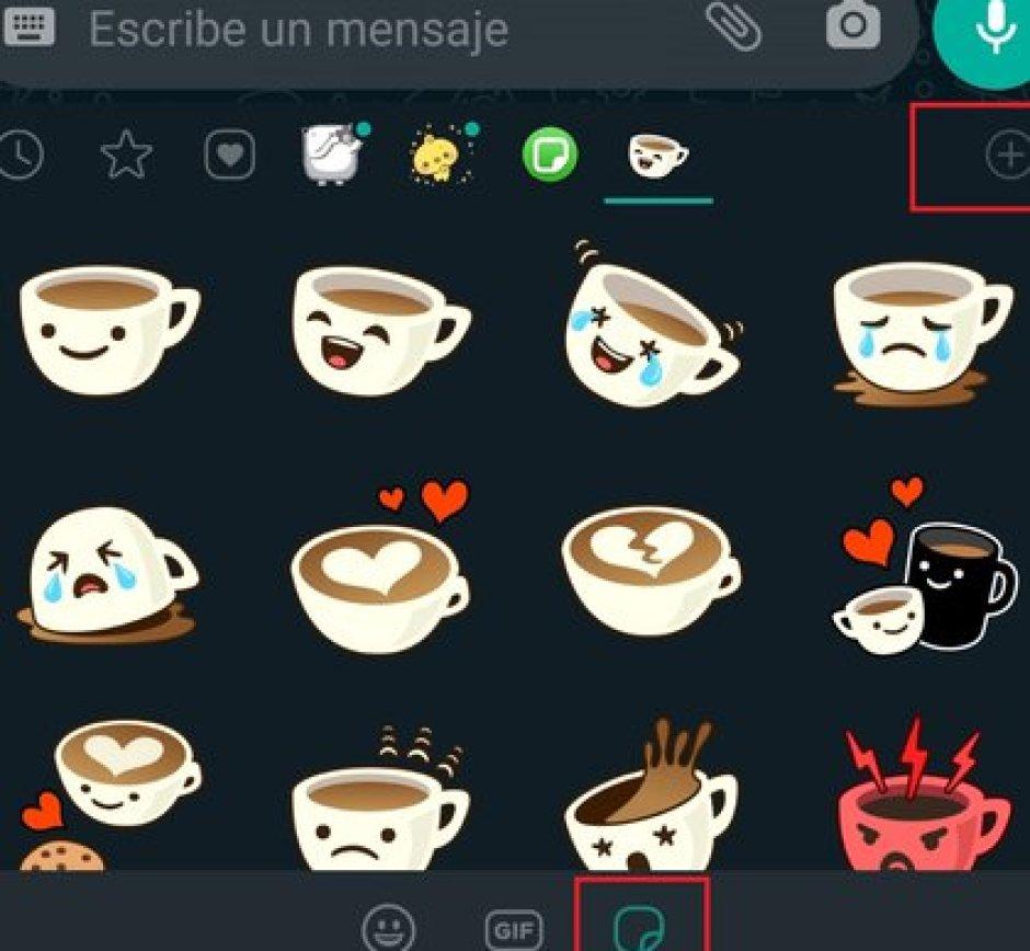 Los stickers animados son una de las novedades que llegaron a WhatsApp este año